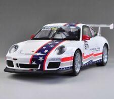Voitures, camions et fourgons miniatures blancs GT pour Porsche