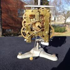 Portugal Reguladoro Wall Regulator Clock Movement Runs Good Repair Cleaned