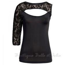 Klassische taillenlange Kurzarm Damenblusen, - tops & -shirts ohne Muster