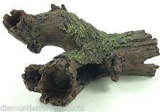 Aquarium/Reptile Vivarium 22cm Tree Stump Log Hide Ornament Decoration #6683O