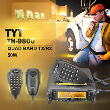 1610A Version DHL/EMS Quad Band Ham Radio Transceivers TH-9800 with Cable