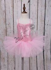 Girls Gymnastics Dance Dress Child Ballet Tutu Dancewear Leotard Skirt Costume