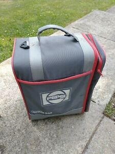 "Ogio The Original Gray Red  Zip Fastener Locker Bag Large Pepsi 15""x 13""x 12"""