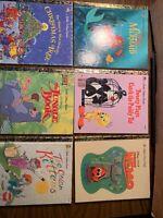 """Lot 6 """"modern"""" Little Golden Book; Finding Nemo, Little Mermaid, Jungle Book"""