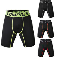 Fashion Sports Apparel Skin Tights Compression Base Men's Running Gym Shorts Hot