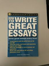 How To Write Great Essays