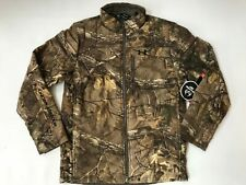 Under Armour Mens Storm Hunting Jacket Size M Realtree Camo Extreme Wool 1297437