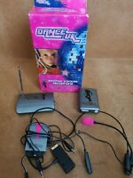 PS1/PS2 Dance UK Wirefree Karaoke Microphone + Volume Adapter - PlayStation 10m