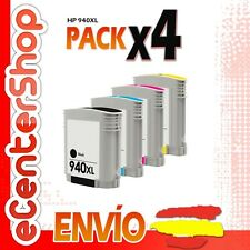 4 Cartuchos de Tinta NON-OEM 940XL - HP Officejet Pro 8500