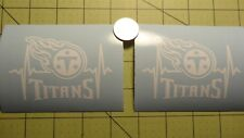2 X Tennessee Titans car decal or yeti, Tumler