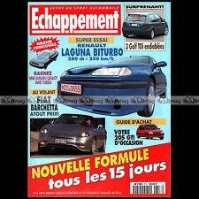 ECHAPPEMENT N°318 PORSCHE 911 SUPERCUP TYPE 993, 205 1.6 1.9 GTi FIAT BARCHETTA