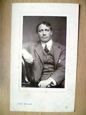 1907 Used Postcards- Actors MR LEWIS WALLER (Rotary Photographic)