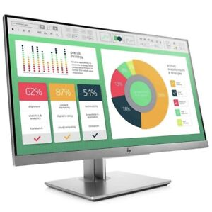 HP EliteDisplay E223 21.5 inch Widescreen IPS Monitor, Tiltable, USB Hub