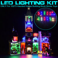 USB LED Light Lighting Kit For LEGO 10273 Haunted House Building Block Bricks π
