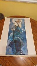 Eye Catching Alphonse Mucha Moon Cool Wall Decor ArtPoster Print, 24 x 36 Inches