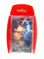 NEW Star Wars Episode 7: The Force Awakens Top Trumps Card Game SEALED DECK