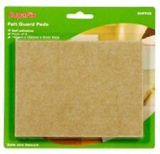 SupaFix feutre guard pads pack 2 110mm x 150mm-protéger les sols et meubles