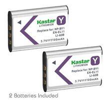 NP-BY1 EN-EL11 LI-60B Battery for Pentax Optio L50 M50 M60 S1 V20 W60 W80