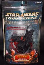 2002 Star Wars Darth Maul Unleashed Figure New In The Package