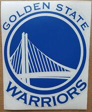 """Golden State Warriors Car Truck Window Vinyl Decal Sticker NBA 5.5"""" tall"""