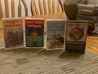 Christmas cassette lot The Beach Boys, Roy Rogers, Kenny Rogers, A Country Xmas