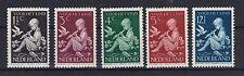 Niederlande 1938 mit Falz MiNr. 322-326