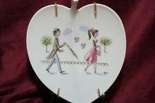 Rosenthal THE LOVERS Vintage Plate by Raymond Peynet  1955-1965 Listing # 3