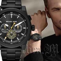 Original Michael Kors Uhr Herrenuhr  MK8600 Grayson Chrono Schwarz NEU!