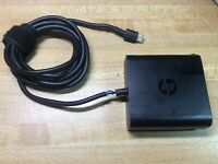 OEM HP TPN-CA06 65W USB-C AC Adapter Power Supply Laptop Charger TESTED