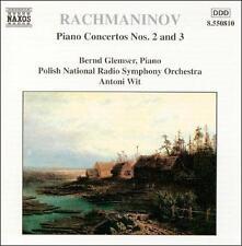 Rachmaninov: Concerto for piano in Cm; Concerto for piano in Dm, New Music