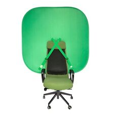 Pop Up Chair Green Screen - Portable Collapsible Chroma Key Background 148cm