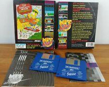 Simpsons Bart Vs The Space Mutants Commodore Amiga 500 500+ 600 - Complete