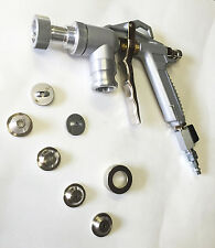 Texture Spray Gun include 4 Spray Nozzles and Fine Finish Spray Kit