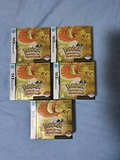5 Pokemon Heart Gold Nintendo Game Boy Nuovo Sealed NEW Never Opened