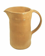 Vintage Studio Pottery Terracotta Pitcher - Signed - Canada - Mid 20th Century