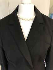 Reiss Black Suit Jacket s12