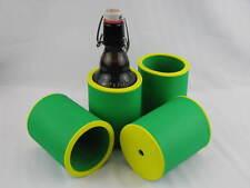 4er Set Getränkekühler 0,33l Flasche - Bierkühler - Neoprenkühler  Stubby Cooler
