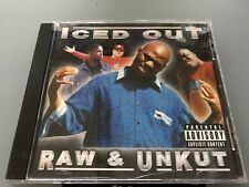 CD: ICED OUT - Raw & Unkut (2001 4Gold Rec.)Richmond Cali Rap G-Funk