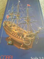 Corel Wood Ship Model Kit Hms Bellona