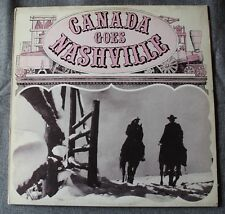 Canada goes Nashville - compil Country Music, LP - 33 tours