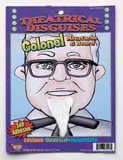 Theatrical Disguises - Colonel Beard Self-Adhesive Facial Hair Accessory