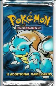 Pokemon 1999 Unopened Booster Pack BLASTOISE