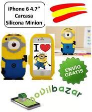 """FUNDA CARCASA IPHONE 6S y 6 4,7"""" MINION MINIONS SILICONA 3D.ESPAÑA.MÁS EN TIENDA"""