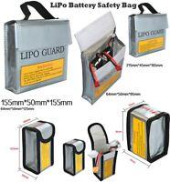 LiPo Li-Po Battery Fireproof Safety Guard Safe Bag 64*50*95MM 185*75*60MM