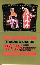 WCW World Championship Wrestling Trading Card Box 36 Packs 1991