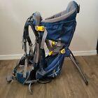Deuter Kid Comfort II 2 Baby Toddler Child Carrier Hiking Backpack Blue Outdoors