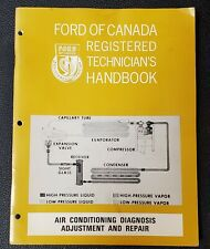 FORD REGISTERED TECHNICIAN HANDBOOK  TROUBLESHOOTING THE 12 VOLT CHARGING SYSTEM