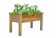 Raised Elevated Garden Bed Plant Gardening Wood Planter Flower Box Vegetable NEW