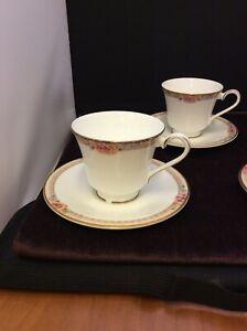 Royal Doulton Darjeeling bone china footed tea cup & saucer - H5247