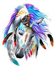 Color Bügeltransfer Bügelbild Applikation Pferd groß CBT 013